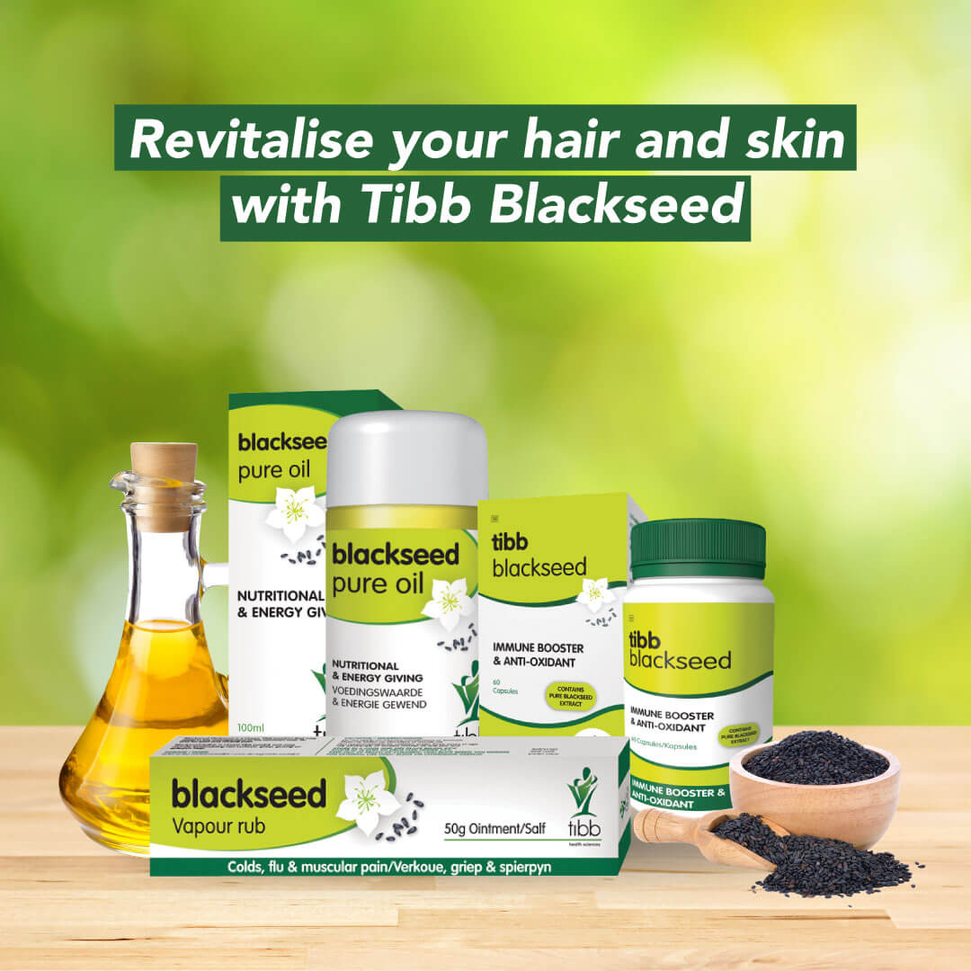Black Seed Oil Revitalises Hair and Skin